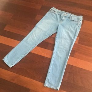 The Limited 678 skinny jeans light wash